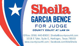 VOTE SHEILA GARCIA BENCE FOR COURT-AT-LAW #4