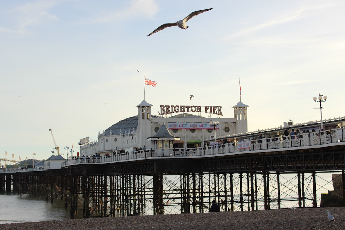 Brighton Beach Look Travel Guide City England Trip