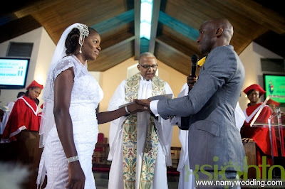 Pictures From Obiwon's Church Wedding & Reception. 21