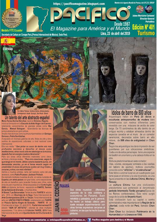 Revista Pacifico N° 401 Turismo