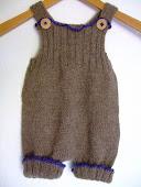 strikkede bukser