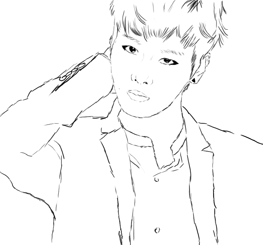 bts kpop coloring pages related keywords