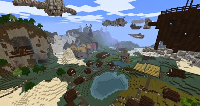 aaa New Nagareru Texture Pack for Minecraft 1.7.10 and 1.7.2