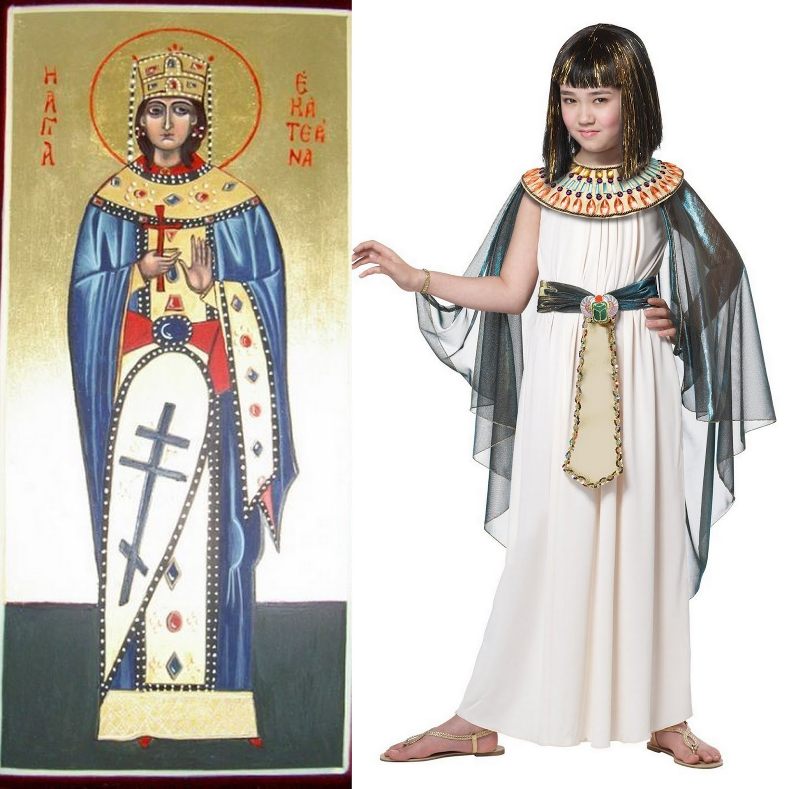 From the You Really Think the Church Doesnu0027t Respect Women? file St. Catherine of Alexandria was both a princess and a noted scholar ...  sc 1 st  CatholicAllYear & Catholic All Year: Twofer Costumes for Halloween and All Saints 2015 ...