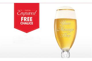 FREE Stella Artois Chalice-