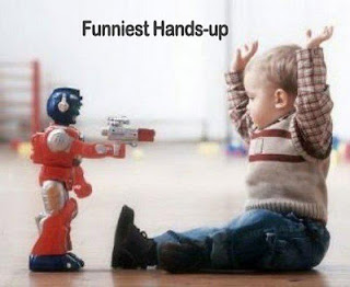 Funniest Hands-up Picture