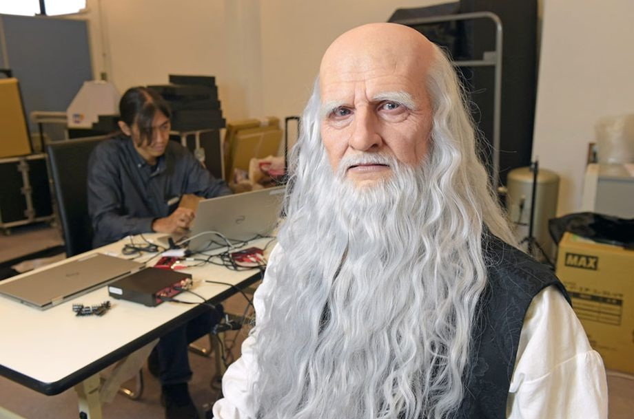 Tecnoneo: Leonardo da Vinci vuelve a la vida en Japón a ...
