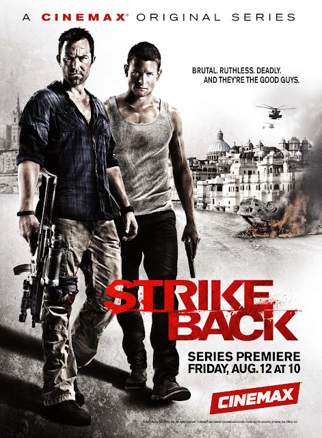 Strike Back TV Series 2012 Poster