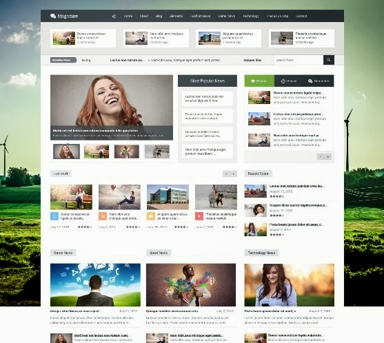 Magazine Responsive Multipurpose WordPress Theme