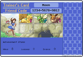 Moon's Trainer Card