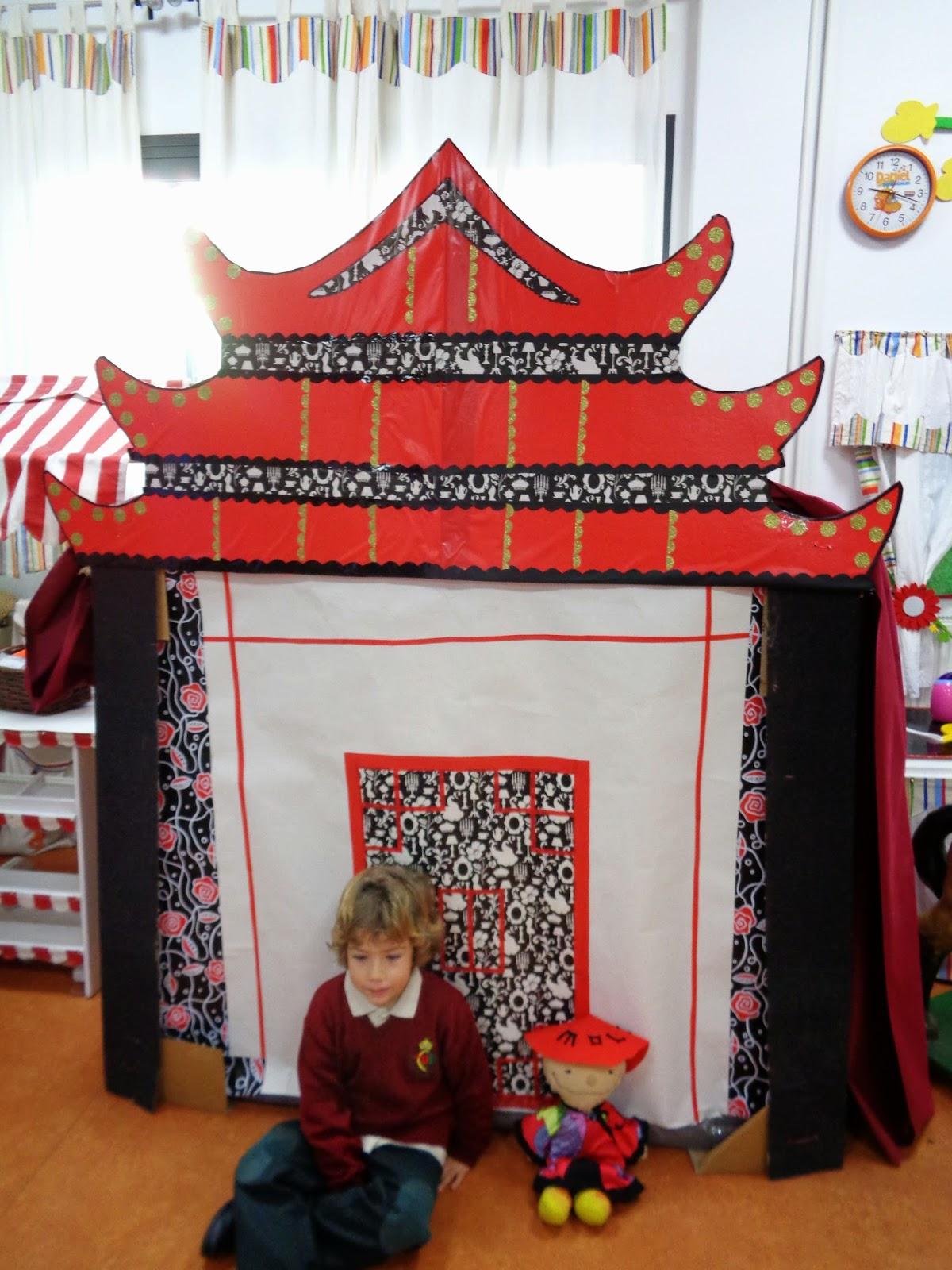 Infantil de gracia las pagodas de china for Adornos para murallas