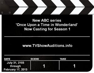 Once Upon a Time in Wonderland Casting Calls