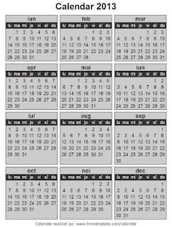 Calendar 2013 - 11