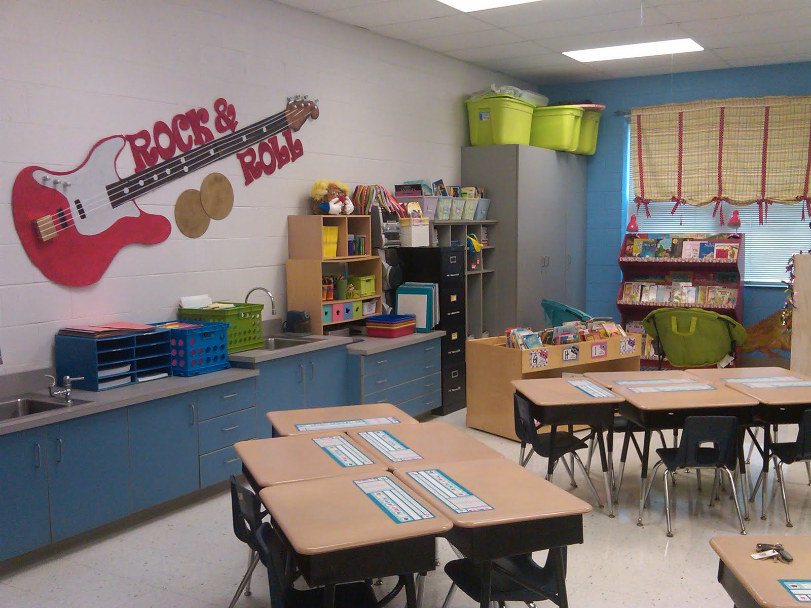 Classroom Theme Ideas Grade ~ School room theme rock n roll on pinterest and