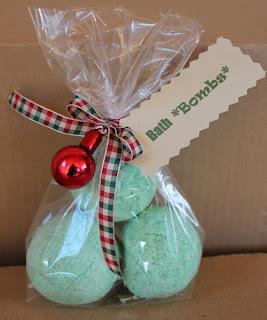 Bath Bombs Or Bath Fizzies Homemade Gift Idea