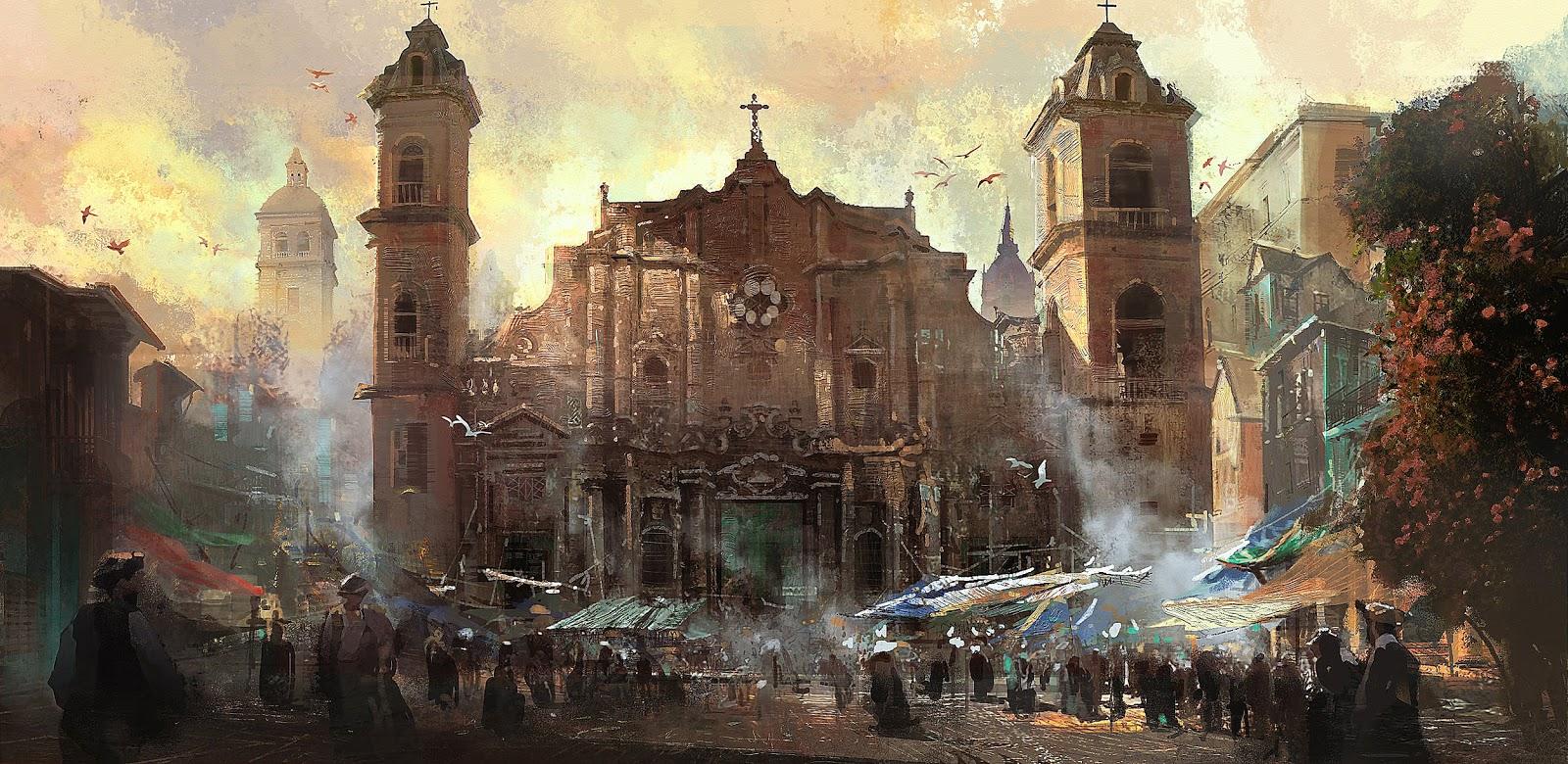 assassins creed iv black flag concept art 5 Assassins Creed IV: Black Flag   Concept Art