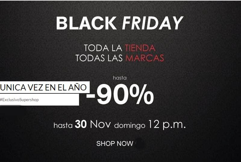 Black Friday 2014 de Supershop