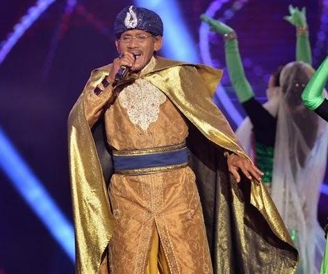 Wakgan tersingkir Konsert Kilauan Emas 4 minggu 3