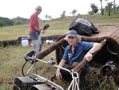 Calleja desafía a la muerte Amazonas