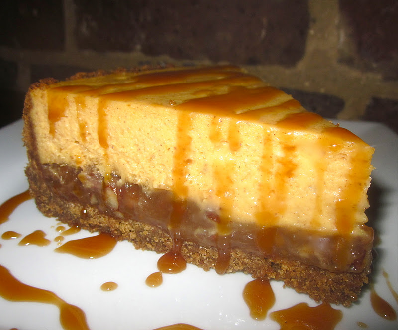 Haute + Heirloom: Pumpkin Pecan Pie Cheesecake with Gingersnap Crust