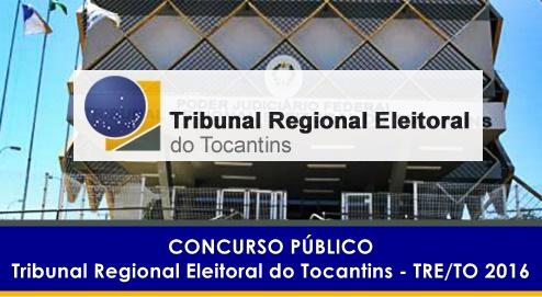 Apostila Concurso TRE TO Tocantins 2016