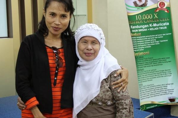 K-Muricata bantu atasi kanker payudara Rahma Abdul Rahman