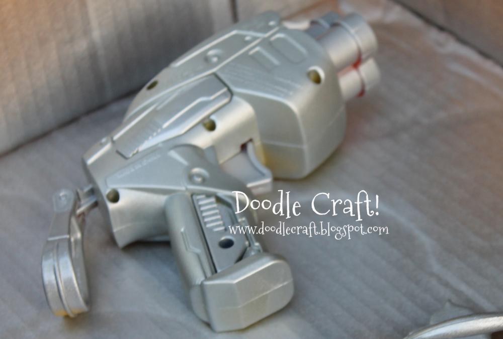 doodlecraft spray paint nerf guns. Black Bedroom Furniture Sets. Home Design Ideas