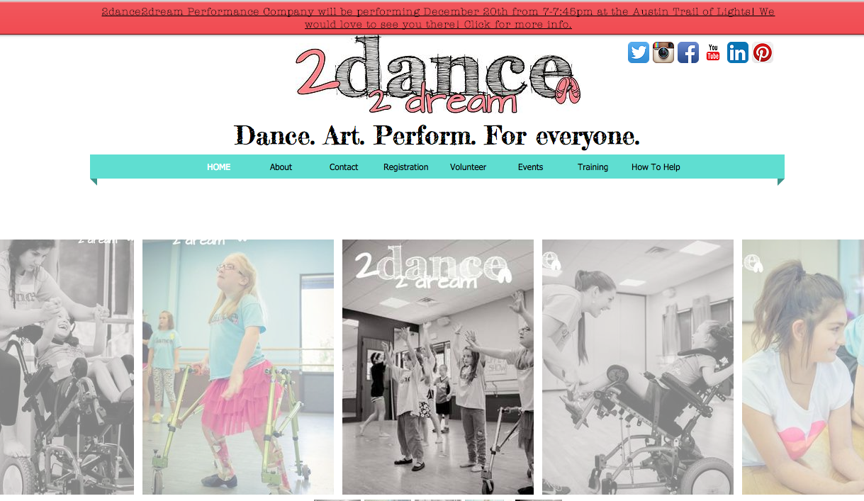 Check Out the New 2dance2dream Website!