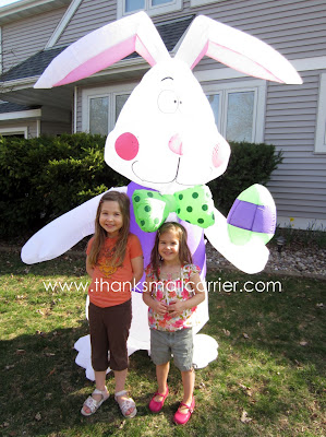 Gemmy Airblown Inflatable Easter Bunny review