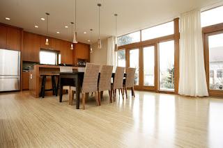 bamboo floors kitchen