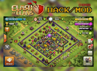 Clash of Clans Unlimited Mod/Hack v7.65 APK UPDATE