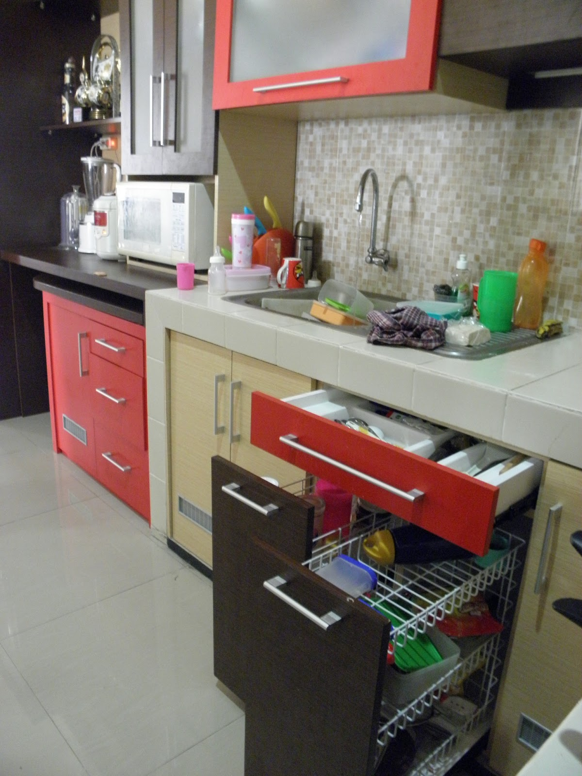Kitchen set minimalis malang for Kitchen set malang