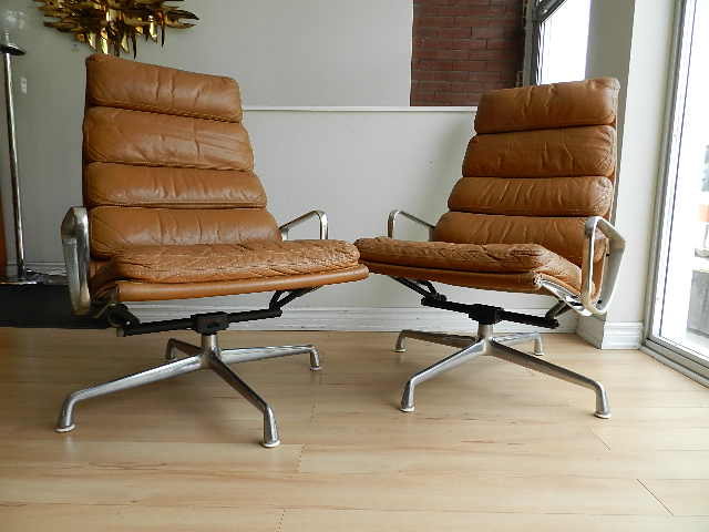 Charles Eames Lounge Chairs And Ottoman   Sold. Soft Pad ...
