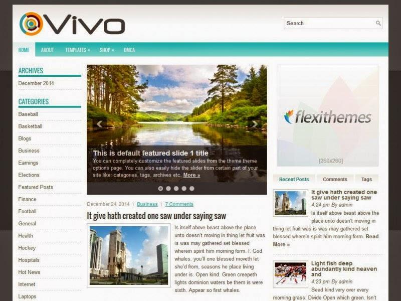 Vivo - Free Wordpress Theme