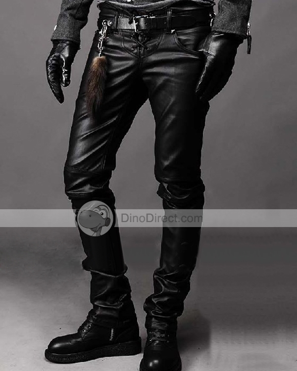 Black Leather Pants For Men. When you set your sights upon a person in leather, your mind may begin to wander and your imagination may be set alight with thoughts and fantasies. With plenty of D-rings and pockets, the Black Leather Pants For Men will inspire such feelings in any person who takes a look at you wearing them. Stylish, bold and full of detail, these pants are the perfect companion to any leather /5(2).