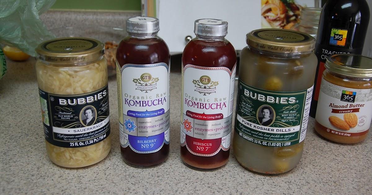 Probiotics For Depression >> Paleo Cents: Review of Probiotic Foods: Bubbies Sauerkraut, Pickles & Kombucha!