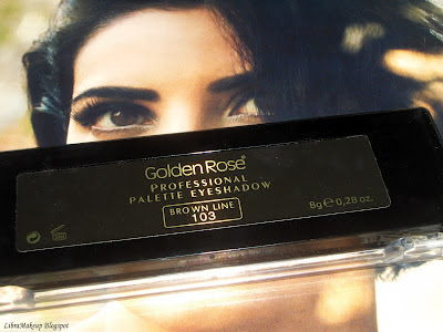 Golden Rose Professional Palette Eyeshadow göz farı