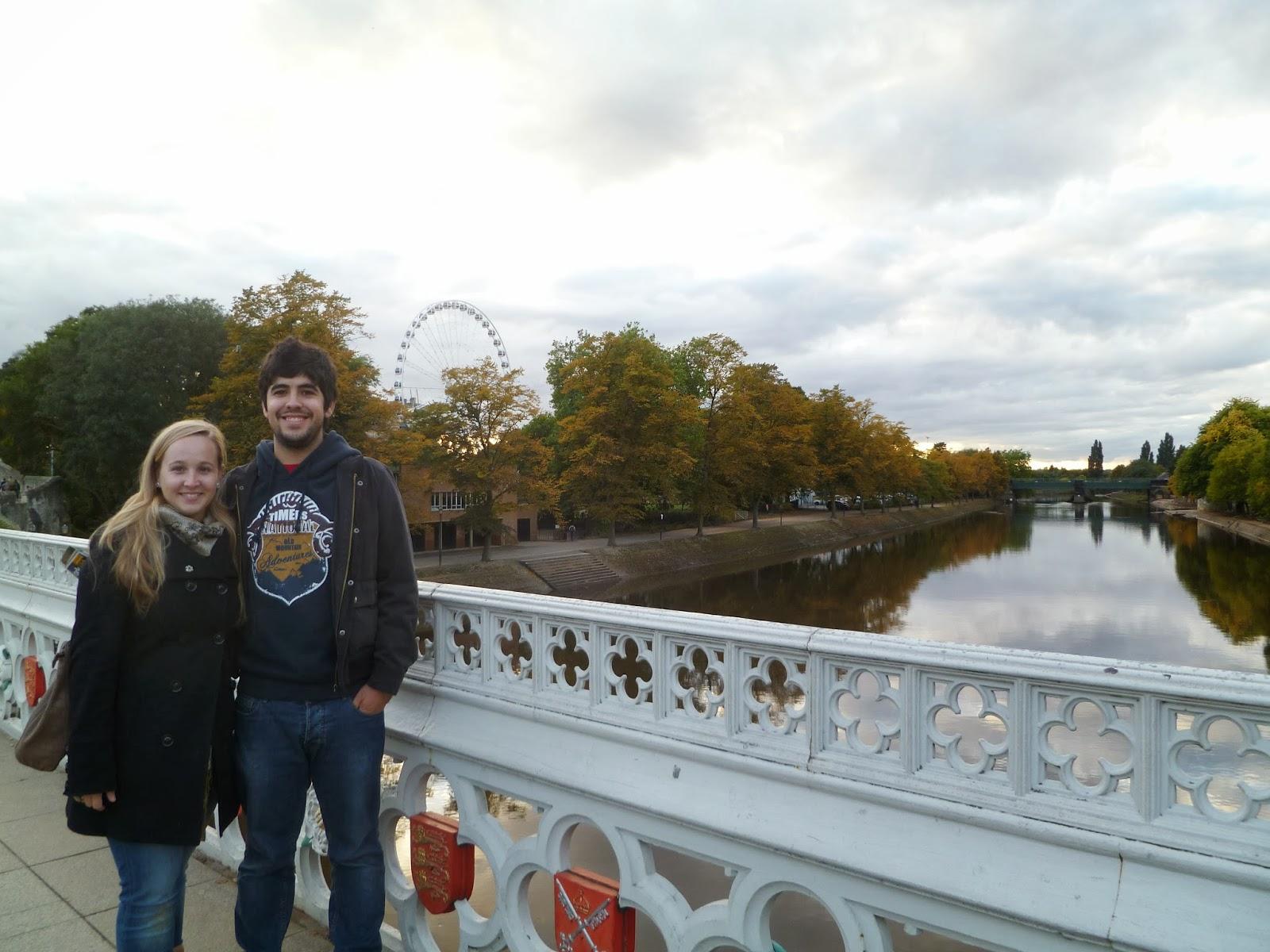 Sara y Alejandro en York