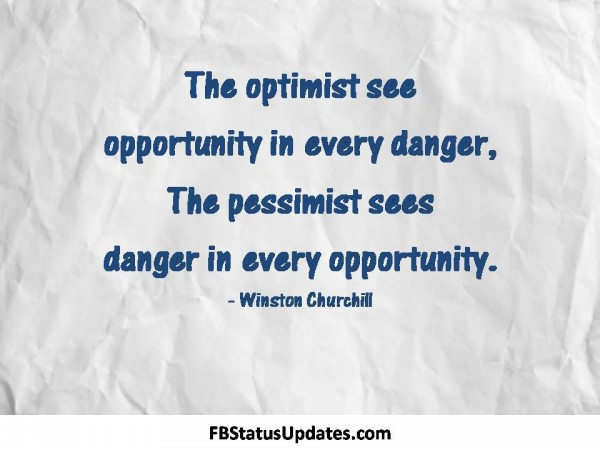 optimism quote with - photo #22