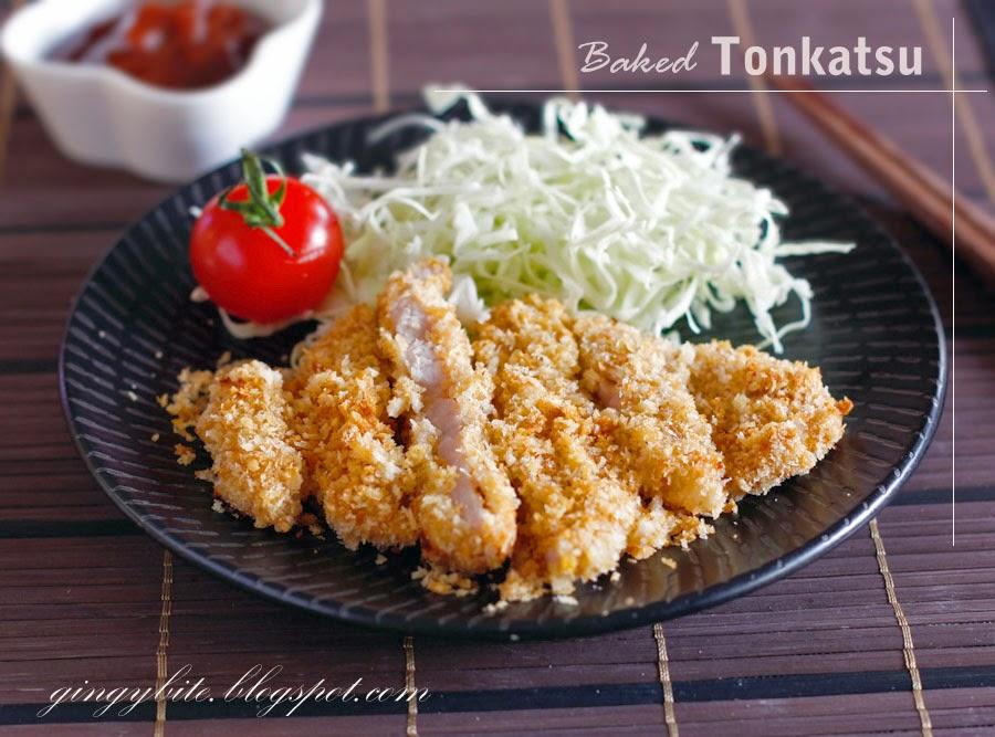Baked Tonkatsu 日式猪扒(烤箱版)