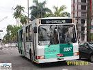 Piracicabana Santos 5307 - Trólebus Mafersa