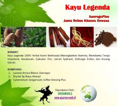 Jamu kuat lelaki 100% herbal alami - sanregoplus kayu akway