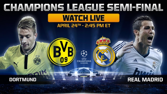 Video Highlight dan Preview : Baorussia Dortmund vs Real Madrid UEFA Liga Champions