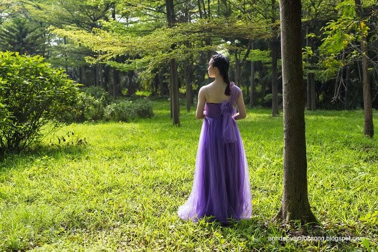 Váy tím mộng mơ 1