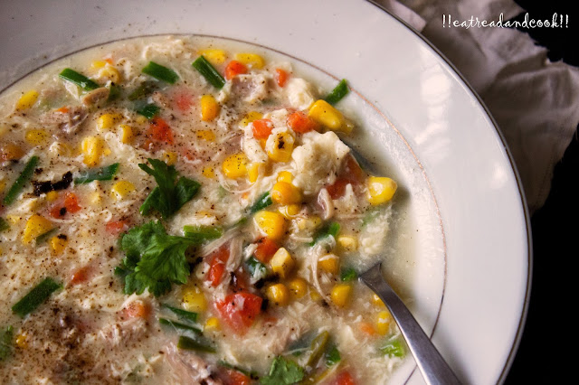 chinese sweet corn chicken soup recipe