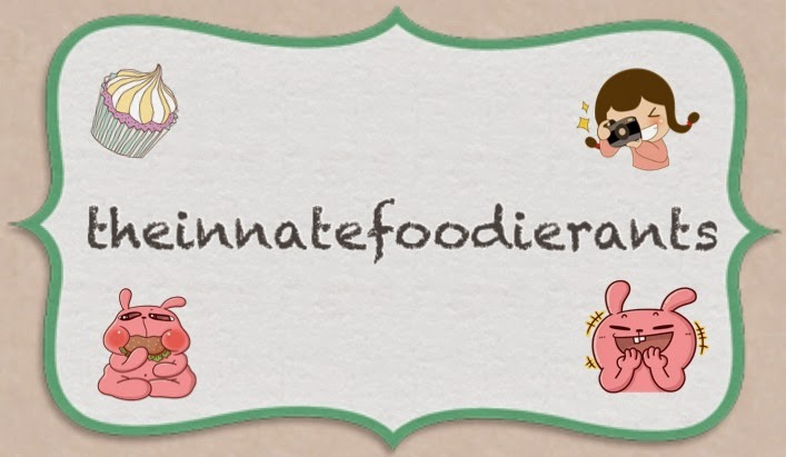 Listen to the Innate Foodie rant about her gastronomic adventures!