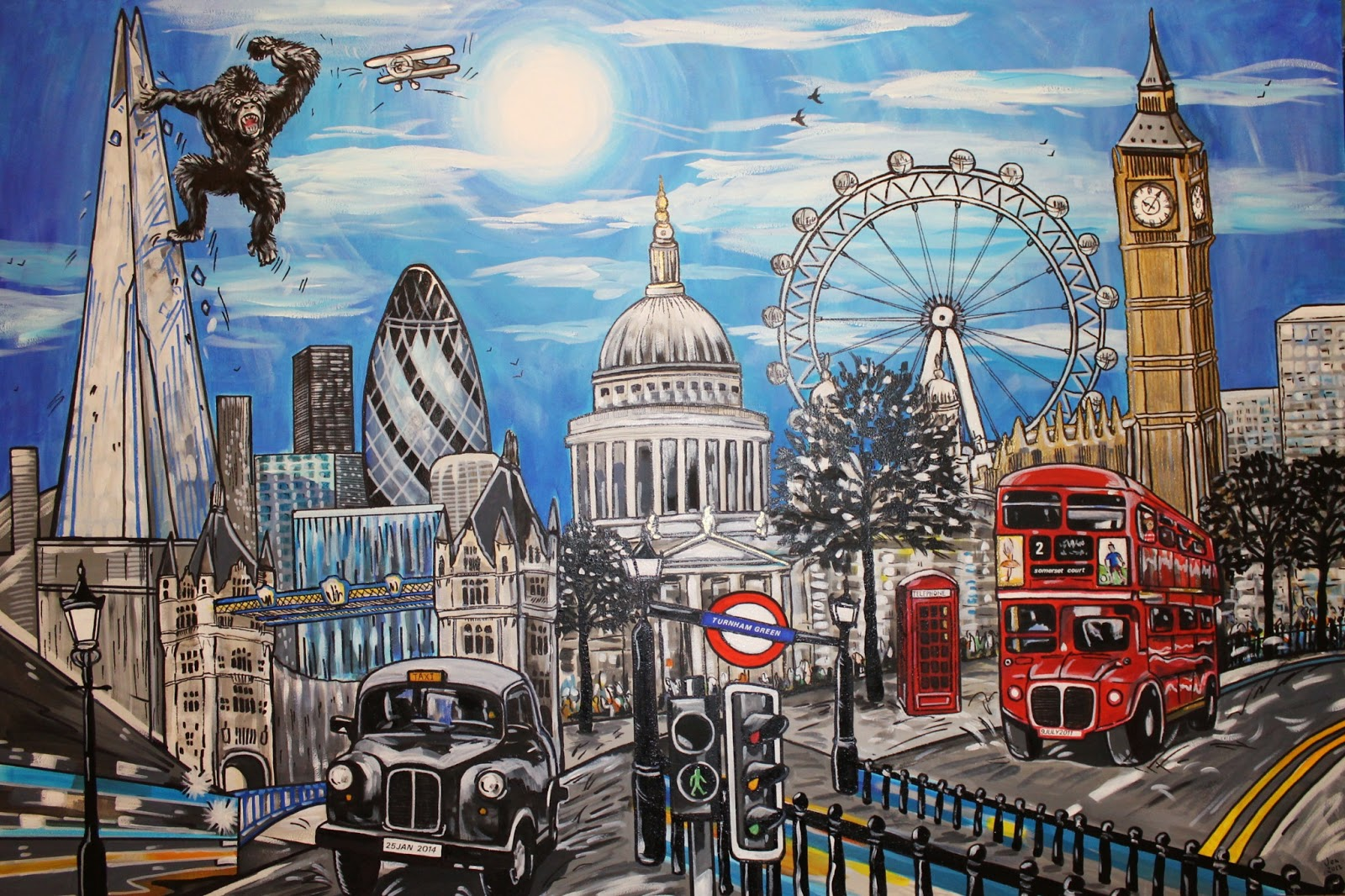 Scenic photos london scenery photos for Presentoir carte postale mural