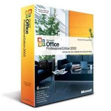 MICROSOFT OFFICE 2003 PRO GENUINE