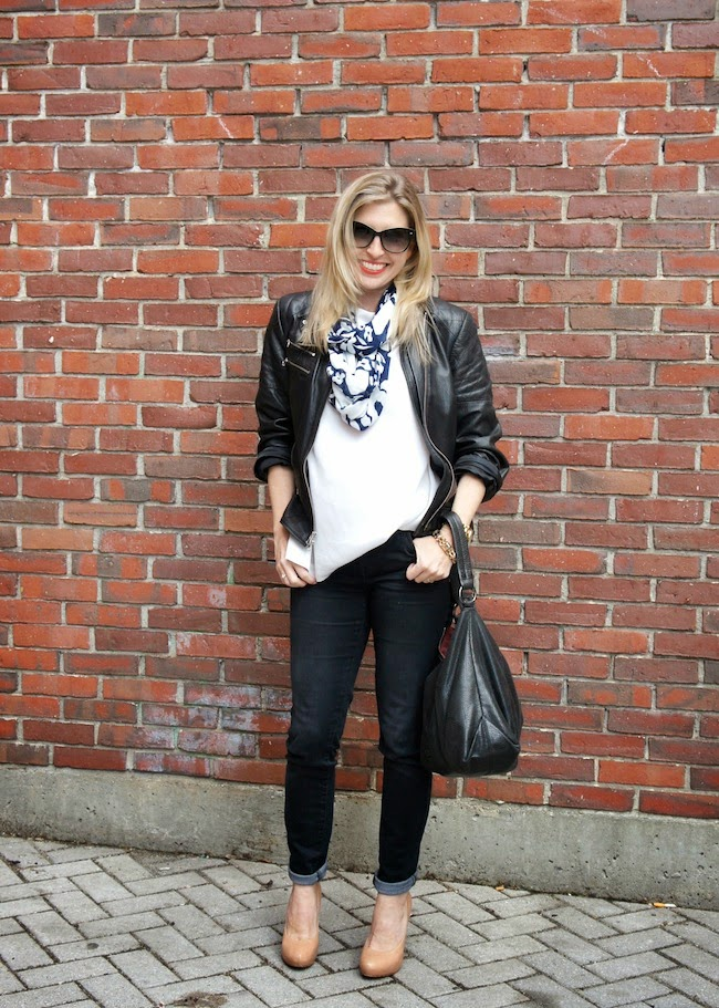 Kate Spade, leather jacket