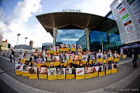 Empatia demo, Katowice, Poland, May 2014. Photo by Szept Getta. http://butlon.blogspot.com/
